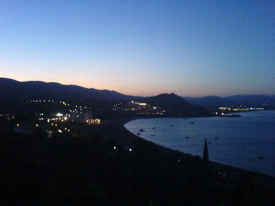 Lindos Mare Hotel : sunset from our room