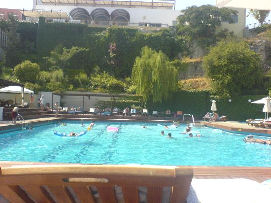 Lindos Mare: pool area