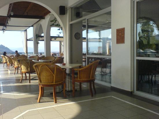 Bar area Lindos Mare