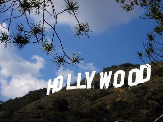 Los Angeles, CA: Hollywood Sign (...as if)