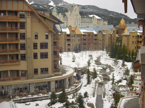 Four Seasons Resort and Residences Whistler: view from the window