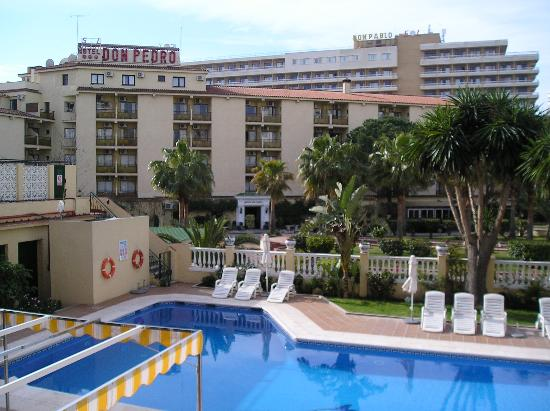 Hotel Don Paquito: View from balcony 2
