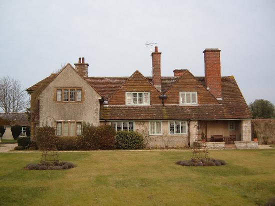 Little Court: Rear of house from garden
