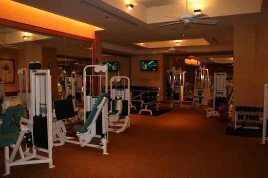 Four Seasons: Very Nice Fitness Room