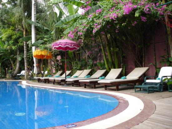 Bopha Siem Reap Boutique Hotel: The pool was a very relaxing spot.