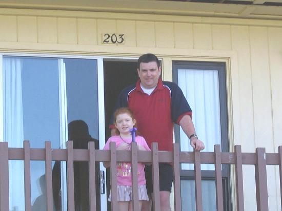 The Landing at Morro Bay: Emma and Me outside room