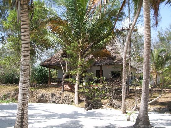 Pongwe Beach Hotel: Our room on the beach