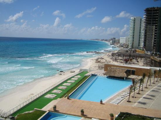Girasol Condo Hotel : view from the penthouse