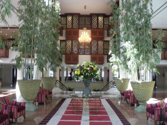 Jordan Valley Marriott Resort & Spa: The Lobby