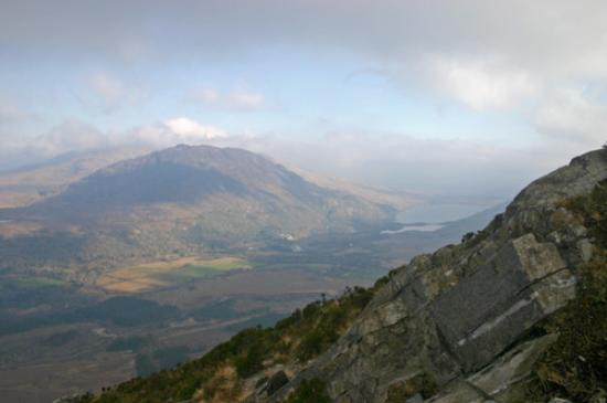 Connemara National Park Hostel: View from National Park 1