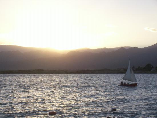 Province of San Juan, Αργεντινή: vista desde el camping de la Universidad