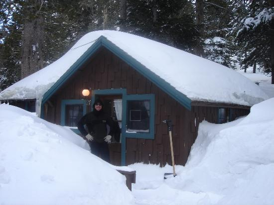 Tamarack Lodge and Resort: Tamarack Cabin in March