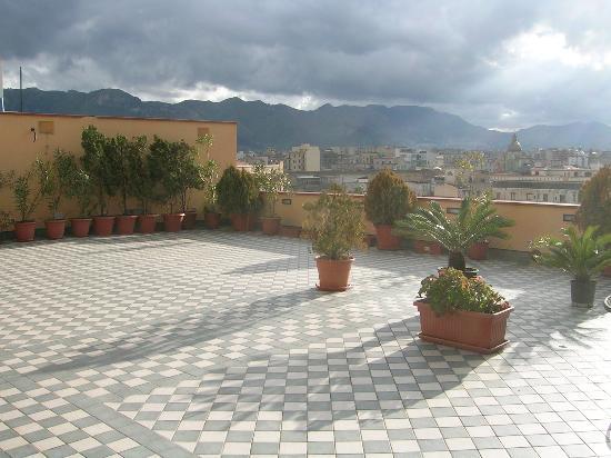 Ambasciatori Hotel: view from terrace