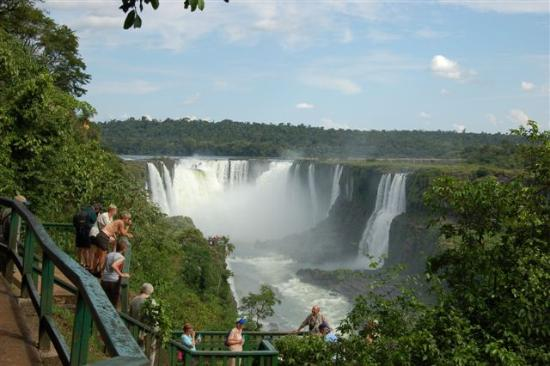 Iguazu Falls : Gorgeous from the Brazilian Side