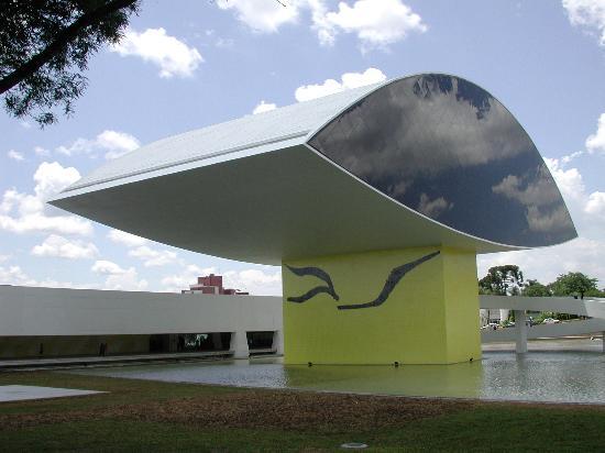 "Curitiba, PR: ""The Eye"" Museum"