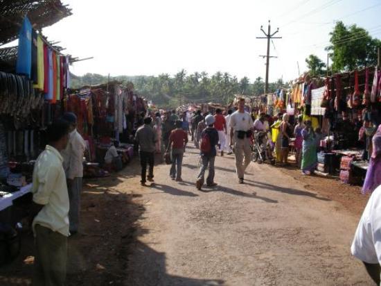 Candolim, India: Anjuna Market