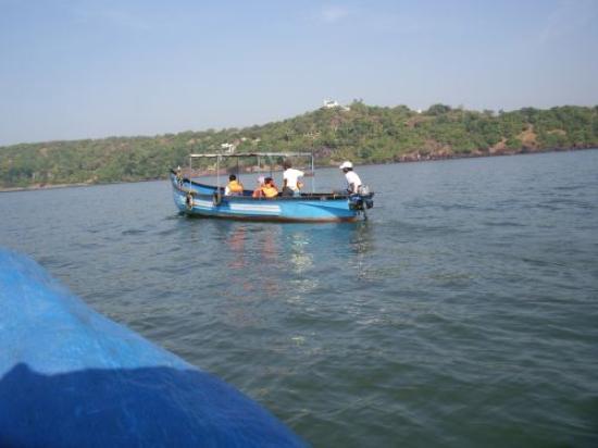 Candolim, India: Boat trip