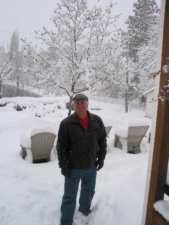 The Barkley Historic Homestead: A very snowy weekend