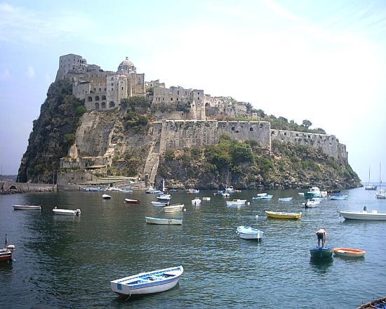 Hotel Villa Melodie : ischia ponte well worth a visit