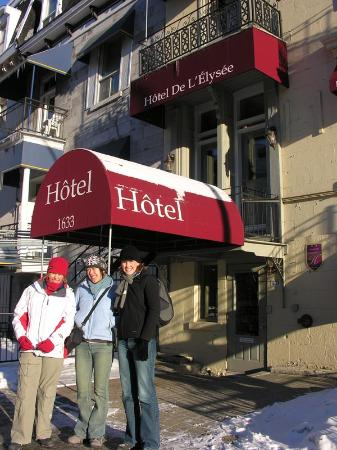 Hotel de L'Elysee: Hotel Entrance