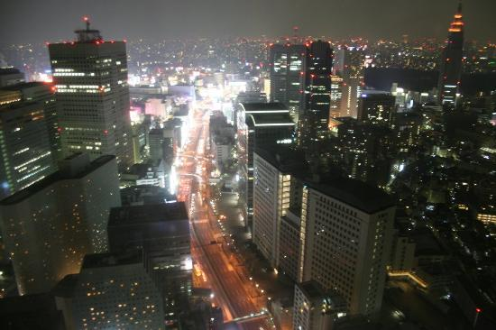 Park Hyatt Tokyo: Nighttime View