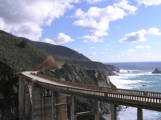 Big Sur, CA: Bixby bridge another view