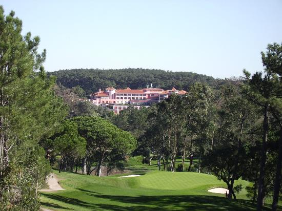 Penha Longa Resort: View of Hotel from 17th hole