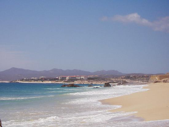 Hilton Los Cabos Beach & Golf Resort: The Hilton in background