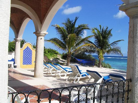 Villa las Brisas: Beautiful caribean vew