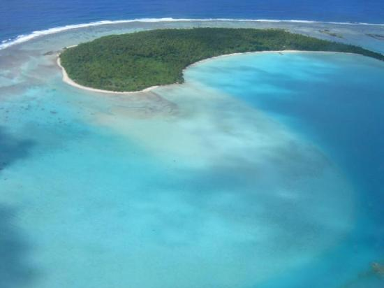 Aitutaki, Kepulauan Cook: Survivor Scout team had to love this