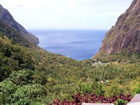 Ladera Resort: View from Villa F