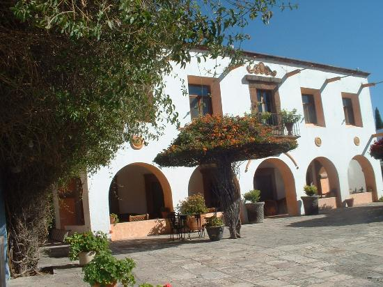 View of the Posada de la Aldea
