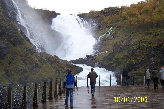 Humongous Waterfall Picture Of Fjord Tours Bergen