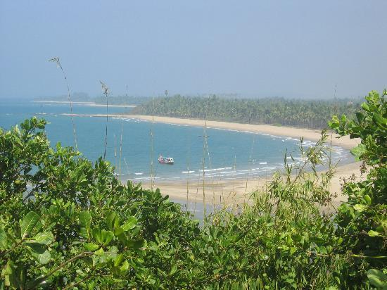 Ngwe Saung: Panorama from a nearby hill