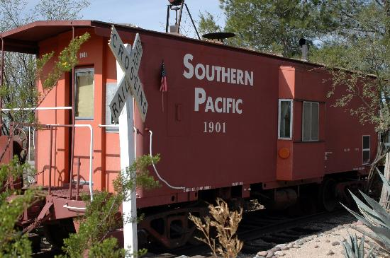 Double K Ranch Bed and Breakfast: Home sweet home (Caboose)