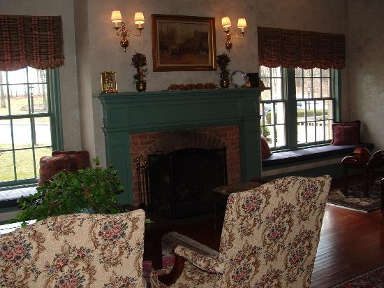 Carnegie Inn & Spa: Lounge Area