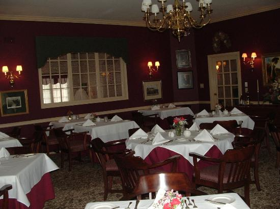 Carnegie Inn & Spa: Dining Room