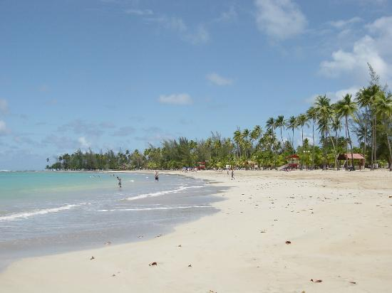 El Yunque National Forest, Puerto Rico: Luquillo Beach
