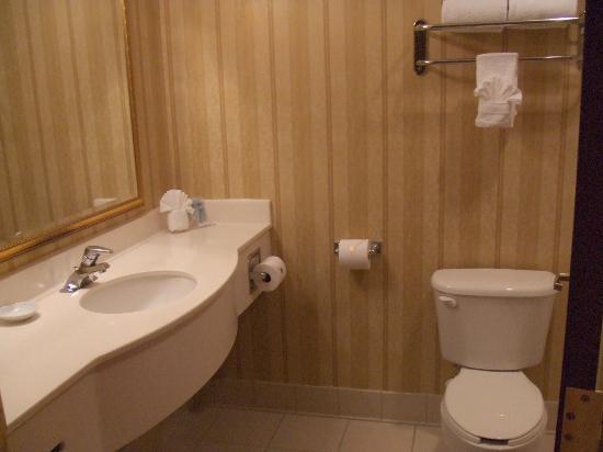 Hampton Inn Boca Raton-Deerfield Beach: bathroom at Hampton Inn Deerfield Beach