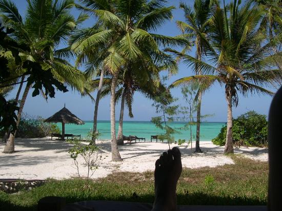 Pongwe Beach Hotel: View from our room