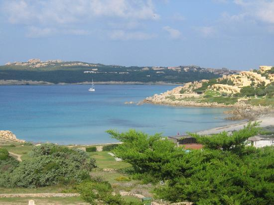 Santa Teresa di Gallura, Włochy: View From a Baia Santa Reparata apartment