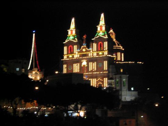 Ramla Bay Resort: Our Lady of Mellieha Church