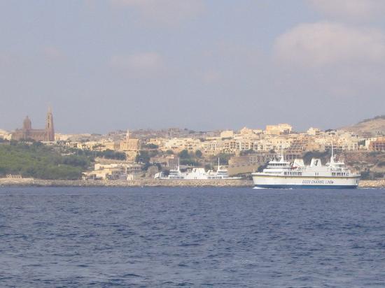 Ramla Bay Resort: Gozo/Ferry Boat
