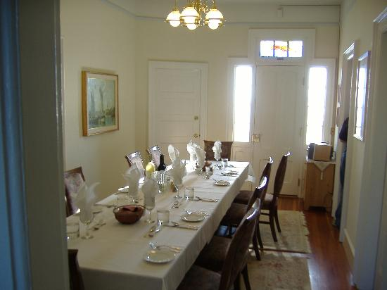 East Brother Light Station: dining room