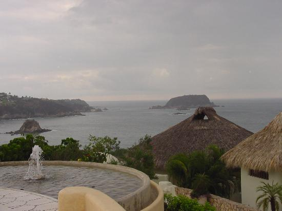 Quinta Real Huatulco: View from the dining room