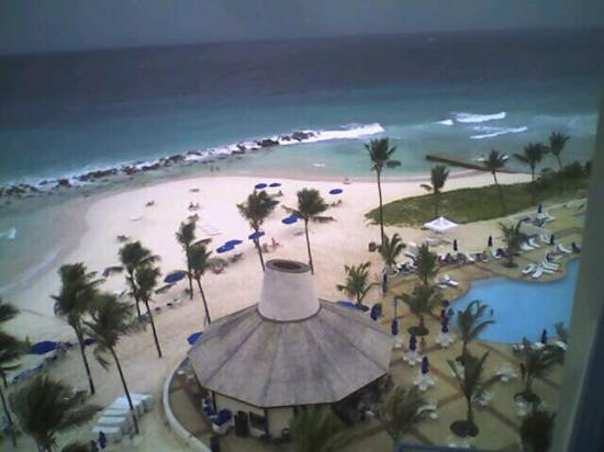 Hilton Barbados Resort: From our balcony