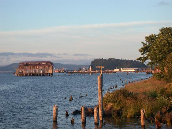 Astoria, OR: View from the  Riverfront Trolley Ride