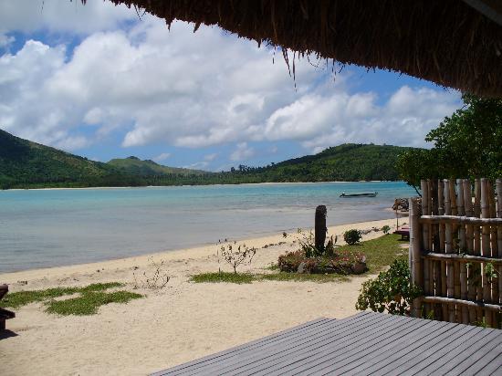 Navutu Stars Fiji Hotel & Resort: The view from our bure
