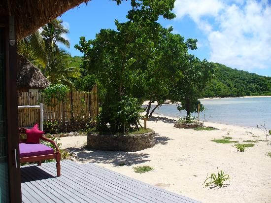 Navutu Stars Fiji Hotel & Resort: The view from our bure