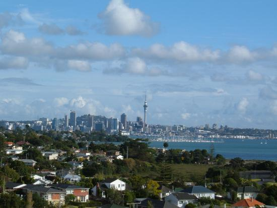 Takapuna, Neuseeland: from our balcony